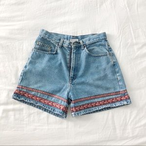 Vintage High Waisted Mom Jean Shorts